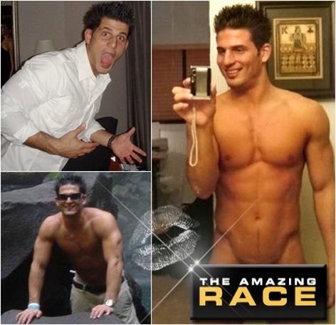 from Lawrence naked on amazing race